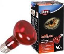 Лампа инфракрасная Trixie 50W обогрева террариумов, цоколь Е27