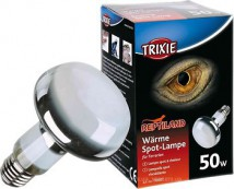 Лампа рефлекторная Trixie 50W обогрева тропических террариумов, цоколь Е27