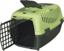 Переноска для животных Trixie Capri II до 8 кг, зелёная