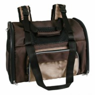 Рюкзак-переноска для животных Trixie Shiva Backpack до 8 кг, коричневый