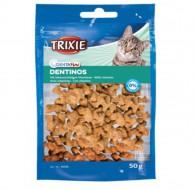 Витаминизированное лакомство Trixie Dentinos для котов и кошек, 50 грамм