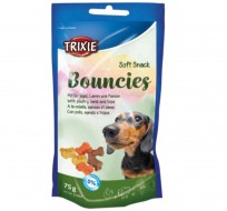 Trixie Мягкое лакомство Trixie Soft Snack Bouncies для собак, 75 грамм