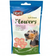 Trixie Мягкое лакомство Trixie Soft Snack Flowers для собак, 75 грамм
