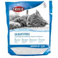 Наполнитель силикагелевый Trixie Simple & Clean 5 литров для кошек