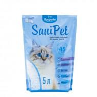 Наполнитель силикагелевый Природа Sani Pet 5 литров для кошек