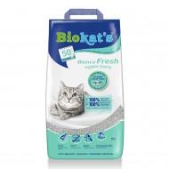 Наполнитель бентонитовый Biokats Bianco Fresh 5 килограмм