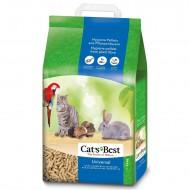 Наполнитель древесный Cats Best Универсал 10 литров
