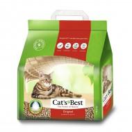 Наполнитель древесный Cats Best Original 5 литров