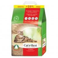 Наполнитель древесный Cats Best Original 10+2 литра