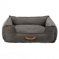 Лежак для собак Trixie Föhr Be Nordic темно-серый, 80х60 см