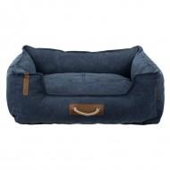 Лежак для собак Trixie Föhr Be Nordic темно-синий, 60х50 см