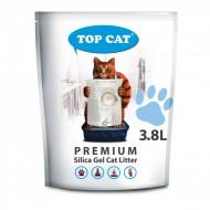Наполнитель силикагелевый Top Cat Premium 3.8 литра для кошек