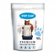 Наполнитель силикагелевый Top Cat Premium 10 литра для кошек
