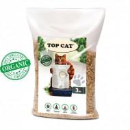 Наполнитель древесный Top Cat 3 килограмма для кошек