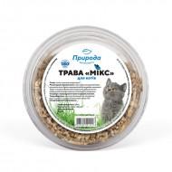 Трава для кошек ТМ Природа Микс 70 грамм