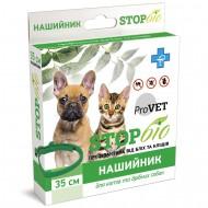 Ошейник от блох и клещей ТМ Природа ProVET StopБио 35 см для собак и кошек