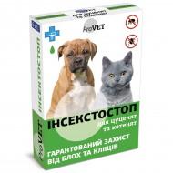 Капли от блох и клещей ТМ Природа ProVET Инсектостоп 6 пипеток по 0.5 на холку для котят и щенков