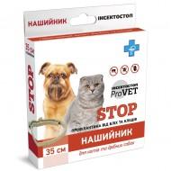 Ошейник от блох и клещей ТМ Природа ProVET Инсектостоп 35 см для собак и кошек