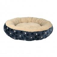 Лежак для собак Trixie Tammy тёмно-синий, радиус 70 см