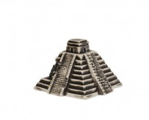 Декорация керамическая ТМ Природа Пирамида Майя 11х11х8 см