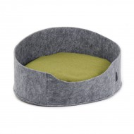 """Лежак для собак ТМ Природа """"Бали"""" серый 22х37х48 см"""