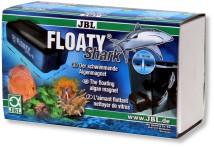 JBL (Германия) Магнитный скребок JBL Floaty Shark для чистки толстых аквариумных стекол