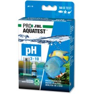 Тест JBL Test pH 3.10-10.0 для определения кислотности в воде на 50 измерений