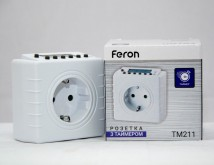 Таймер электронный Feron TM211, недельный