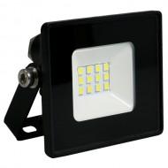 Светодиодный прожектор Feron LL-9010 10W черный 6400K, IP 65