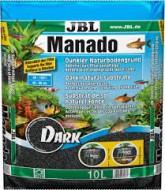 JBL Manado Dark 10 литров 1,5-2,5 мм, активный грунт для аквариумных растений, чёрный
