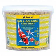 Корм Tropical Koi & Goldfish Basic Sticks 5л /430гр основной корм