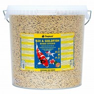 Корм Tropical Koi & Goldfish Basic Sticks 21л /1,6 кг основной корм в палочках