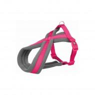Нейлоновая туристическая шлея для собак Trixie Premium L–XL 70–100 см / 25 мм (фуксия)