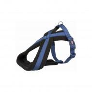 Шлея Trixie нейлоновая Premium туристическая S 35–50 см / 20 мм (индиго)