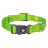 Нейлоновый ошейник для собак Trixie Premium XS-S 22-35 см / 10 мм (зелёный)