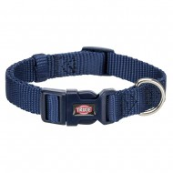 Нейлоновый ошейник для собак Trixie Premium S-M 30-45 см / 15 мм (синий)
