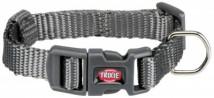 Нейлоновый ошейник для собак Trixie Premium XXS-XS 15-25 см / 10 мм (серый)