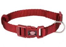 Нейлоновый ошейник для собак Trixie Premium S-M 30-45 см / 15 мм (красный)