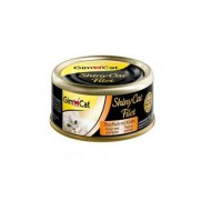 Влажный корм для кошек GimCat Shiny Cat Filet 70 г, с тунцом и тыквой