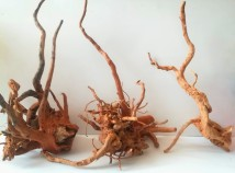 Коряга для аквариума корень Азалии (цена за 100г) от 35 см