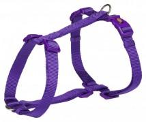 Trixie Шлея для собак Trixie Premium L 60-87 см / 25 мм туристическая, фиолетовая