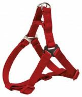 Шлея для собак Trixie Premium L 65-80 см / 25 мм нейлоновая, красная