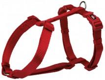 Шлея для собак Trixie Premium L 60-80 см / 25 мм нейлоновая, красная