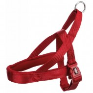 Шлея для собак Trixie Premium L-XL 68-88 см / 50 мм нейлоновая, норвежская, красная
