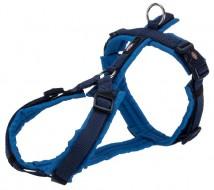 Шлея для собак Trixie Premium trekking S–M 44-53 см / 20 мм синий