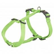 Шлея для собак Trixie Premium L 60-87 см / 25 мм туристическая, зеленая
