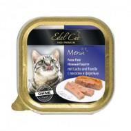 Влажный корм для кошек Edel Cat 100 г, паштет с лососем и форелью