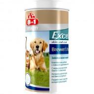 Пивные дрожжи для собак и кошек 8in1 Excel Brewers Yeast, 140 таблеток