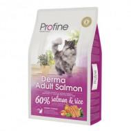 Profine (Чехия) Корм для кошек Profine Cat Derma 10 кг для длинношерстных, с лососем