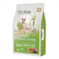 Profine (Чехия) Корм для кошек Profine Cat Indoor 10 кг для живущих в помещении, с ягнёнком
